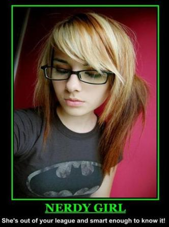 nerdy girl porn